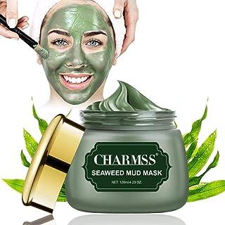 Algenmaske, Schlammmaske aus dem Toten Meer, Mitesser Maske, Tiefenreinigungsmaske,Anti Pickel, verjüngtes und feuchtigkeitsspendendes Gesicht und Körper. 120g