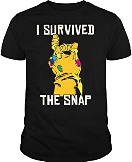 I Survived The Snap T Shirt, Avengers Endgame Thanos T Shirt