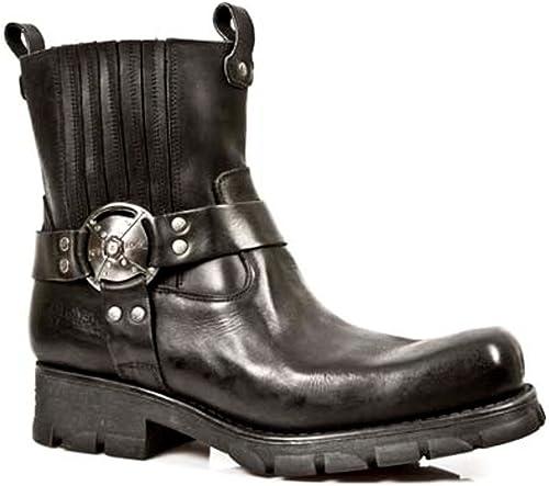 New Rock Stiefel - Hombre Stiefel Estilo 7605 S1 schwarz