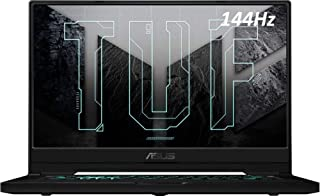 """ASUS TUF Gaming Laptop, 15.6"""" 144Hz FHD, Intel Core i7-11370H Up to 4.80 GHz, NVIDIA GeForce RTX 3060,Thunderbolt 4,Backli..."""