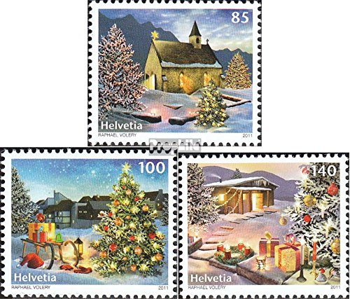 Prophila Collection Schweiz 2224-2226 (kompl.Ausg.) 2011 Weihnachten (Briefmarken für Sammler)