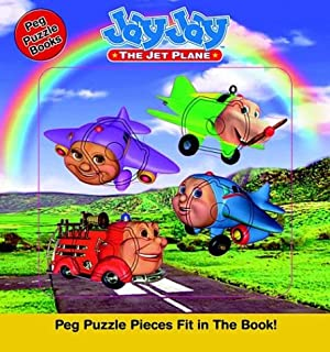 Jay Jay The Jet Plane Peg Puzzel Book ( Board Book)