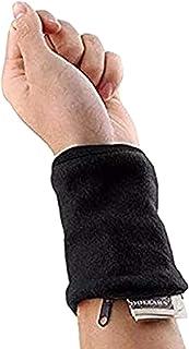 kelebin Wrist Pouch Zipper Wrist Pouch Wristband Sweatband Wrist Wallet for Keys Money Cards Running Fitness Cycling Walking