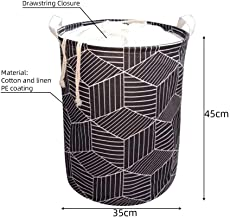 Foldable Laundry Basket Clothes Storage Bag Dirty Laundry Basket Kids Toys Holder Standing Organizer Home Sundries Pouch B...