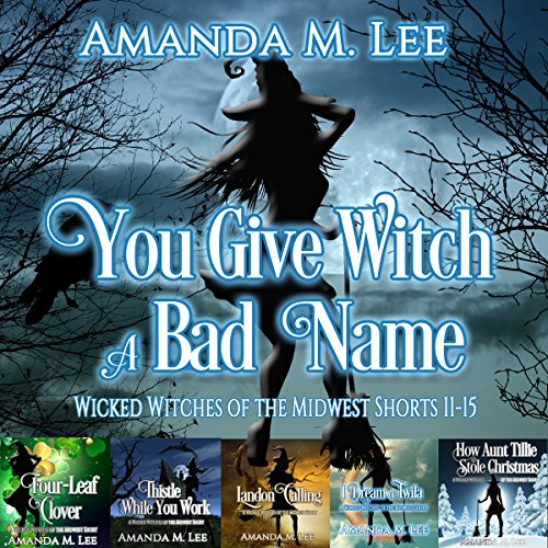 You Give Witch a Bad Name: Wicked Witches of the Midwest, Shorts 11-15 audiobook cover art