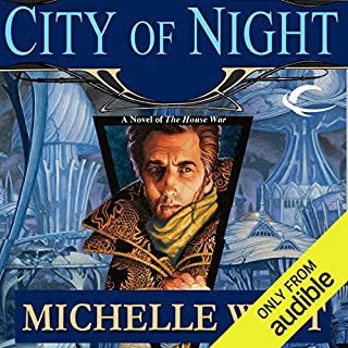 City of Night audiobook cover art
