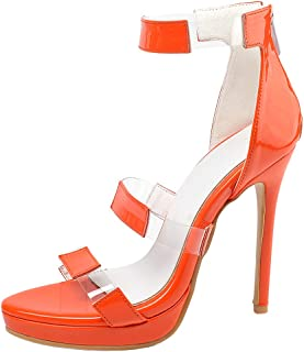 MisaKinsa Women High Heel Sandals Platform