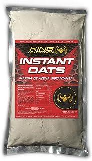 King Nutrition Instant Oats Suplemento Harina de avena 1kg Chocolate