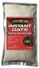 King Nutrition Instant Oats Suplemento Harina de avena 1kg Brownie