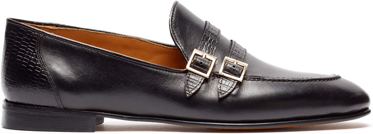 St.Ozzy London Denver Mall Chinua Men 2021 Loafers Leather Black