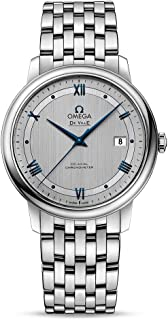 Prestige Co-Axial Rhodium-Silvery Dial Automatic Mens Watch 424.10.40.20.02.001