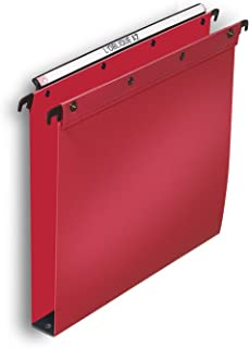 Elba For 100330387 Ultimate Suspension File Polypropylene A4 Red (Pack of 10