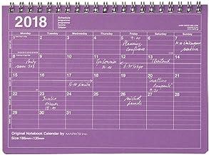 MARK'S 2018 Tischkalender S // Purple