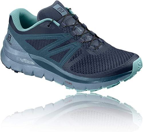 Salomon , Chaussures de randonnée Basses pour Femme Navy Blazer bleustone Nile bleu