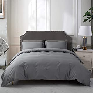 Vailge Duvet Cover Set King,3 Piece Bedding Set with Zipper Closure and Corner Ties, Modern Home Decorative Quilt Cover Li...