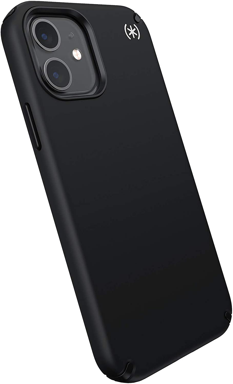 Speck Products Presidio2 PRO iPhone 12, iPhone 12 Pro Case, Black/Black/White
