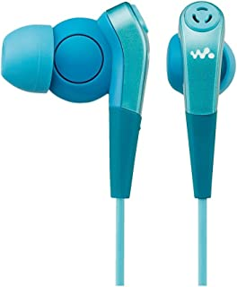ソニー イヤホン MDR-NWNC33 : ノイズキャンセリング機能搭載ウォークマン専用 カナル型 ブルー MDR-NWNC33 L
