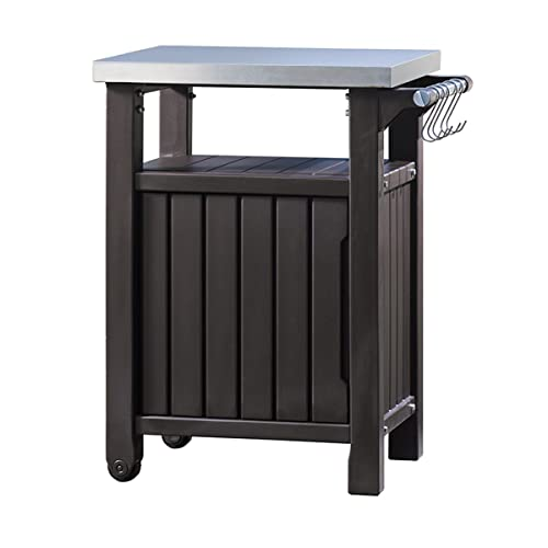 Keter Barbecue Table d'appoint, 1Porte, Graphite, 54x 70x 90cm, 6130