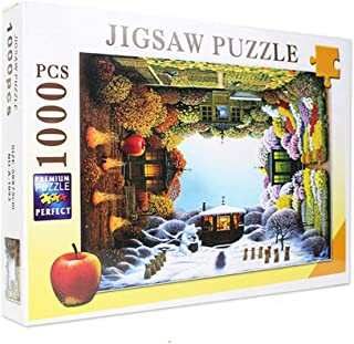Jigsaw Puzzle for Adults 1000 Pieces - The Four Seasons Scenery - DIY Set Unique Gift Home Decor Adult Children's Educatio...