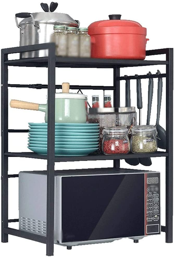 Can Challenge the lowest price of Japan Organizer HSWYJJPFB Cheap SALE Start Stainless Shelf Kitchen Steel Microwave