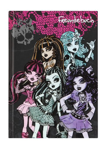 Undercover MH11096 - Monster High Freundebuch A5