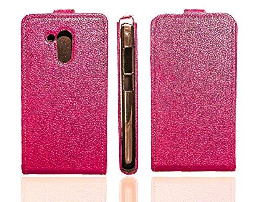 caseroxx Flip Cover für Acer Liquid Z500 Plus, Tasche (Flip Cover in pink)