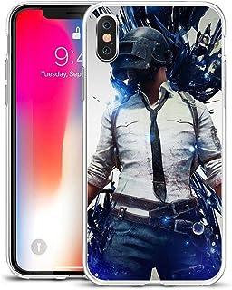 TAIKESEN Eating chicken Jedi survival escape phone case Shockproof Anti-Slip,Clear Design Pattern, Slim Fit Soft TPU Bumpe...