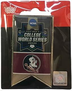 Florida State Seminoles 2017 NCAA Men's College World Series Banner Lapel Pin