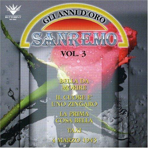 Festival Di Sanremo V. 3- Gli Anni D'oro Festival Di Sanremo V.3- Gli Anni D'oro Other Classic