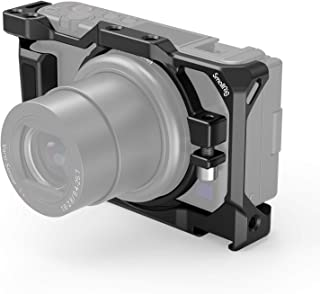 SMALLRIG Camera Cage for Sony ZV1 Camera, with Silicone Gel Grip, Cold Shoe Mount - 2938
