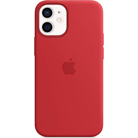 Apple Silicone Case with MagSafe (for iPhone 12 Mini) - (Product) RED