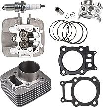 NICHE Cylinder Piston Gasket Cylinder Head Kit For Honda Rancher TRX350 2000-2006 12100-HN5-670