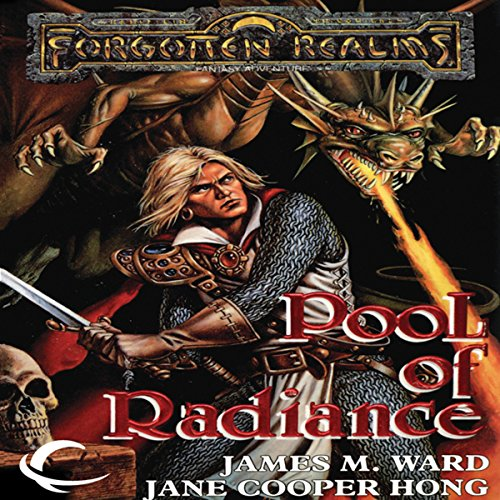 Pools of Radiance audiobook cover art