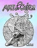 Art de chien: Un livre de coloriage pour adultes pour les amoureux des chiens