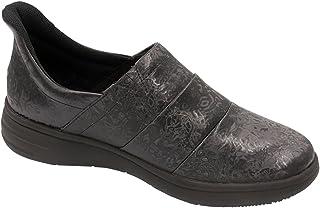Infinity Footwear Women's Leather Footwear_Black on Black_10,BREEZE