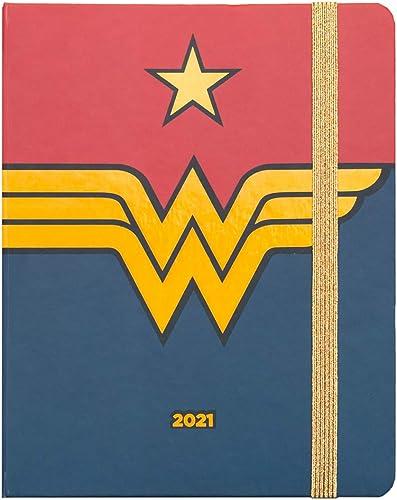 Grupo Erik - Agenda Semainier Wonder Woman 2020/2021 | Premium | 17 Mois | Anglais