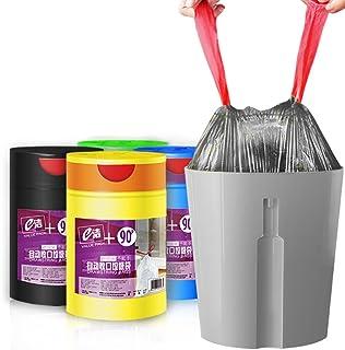 Moyad Drawstring Trash Bags 4 Gallon 90 Count Thicken Kitchen Bathroom Garbage Bags