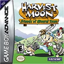 harvest moon friends of mineral town gba