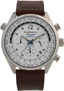 Krug-Baumen 100200DM Mens Air Explorer Diamond Limited Edition Watch