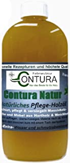 PROFI Pflegeöl Holzöl Holzschutz Tisch- und Möbelöl zum ölen Eiche Buche Teak öl 500ml.