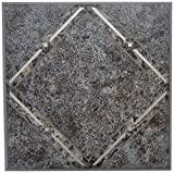 Achim Home Furnishings FTVGM33420 Nexus Self Adhesive Vinyl Floor Tiles, Metallic Marble Diamond, 12...