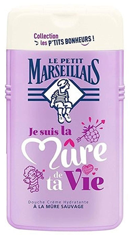 アラビア語小屋ベーカリー「ブラックベリー」シャワークリーム ???? フランスの「ル?プティ?マルセイユ (Le Petit Marseillais)」 les P'TITS BONHEURS 250ml ボディウォッシュ