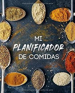 Mi Planificador de comidas: y lista de compras + 1 consejo de cocina por semana - 52 semanas de planificación - Organiza y...