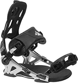 System Pro All Mountain Men's Rear Entry Step in Style Snowboard Bindings 2021
