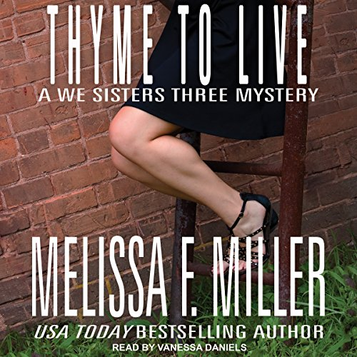 Thyme to Live audiobook cover art