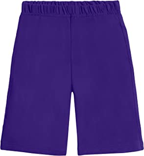 City Threads Cotton Athletic Shorts for Boys - Sports Camp Play and School, Made in USA