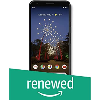 Google - Pixel 3a XL with 64GB Memory Cell Phone (Unlocked) - Just Black (Renewed)
