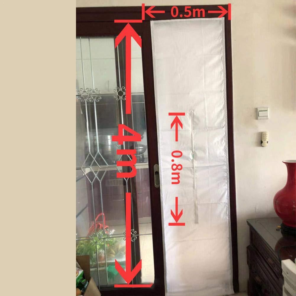 Wapern AirLock Window Seal - Móvil del Aire Acondicionado de 40 centímetros, paño Suave de sujeción, Deflector Interior y Exterior Abierto Lateral Deslizante, Ventana de sujeción, paño: Amazon.es: Hogar