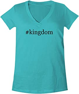 The Town Butler #Kingdom - A Soft & Comfortable Women's V-Neck T-Shirt