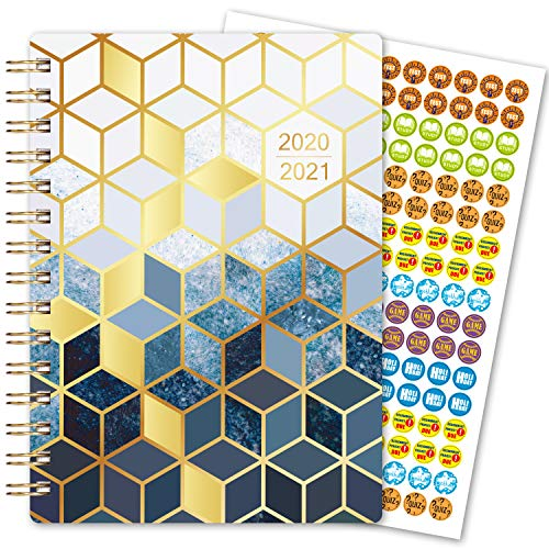 2020-2021 Student Planner – Academic Planner 2020-2021 for School Year July 2020 – June 2021, 6'x 8.5', Weekly & Monthly Planner, Month Tabs, Bonus Ruler/Bookmark and Planning Stickers